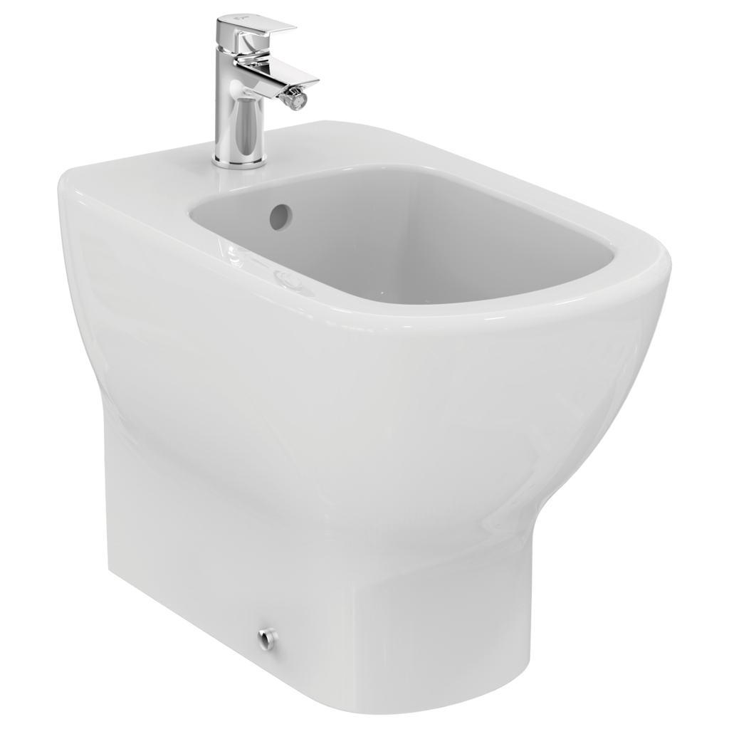 Ceramica Ideal Standard Sanitari.Tesi Bidet A Terra Ideal Standard T354001 Costruire