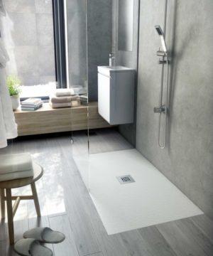 Essential Piatto doccia Fiora. SSEP10080 Formato: cm. 100x80